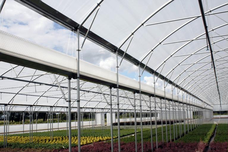 مزایای تهویه طبیعی گلخانه